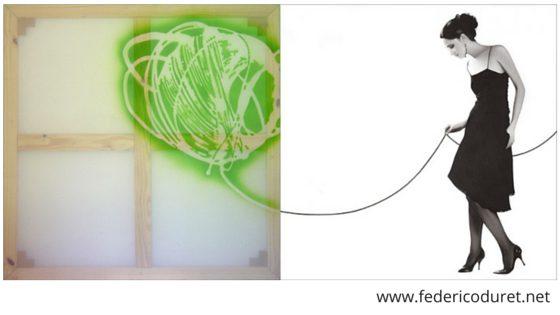 Federico Duret artista plástico Rosarino