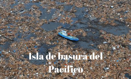 Gran parche de basura del Pacífico. El 7º continente