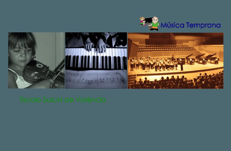 El método Suzuki música temprana