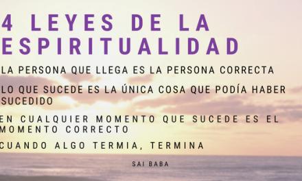 Cuatro Leyes de la Espiritualidad