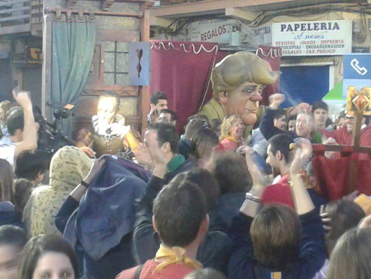 Ninot indultado Fallas 2014