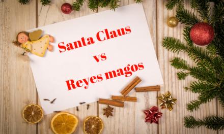 Santa Claus vs Reyes magos