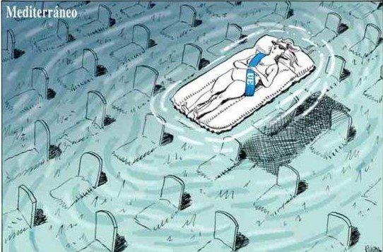 El mediterraneo: el segundo mar muerto