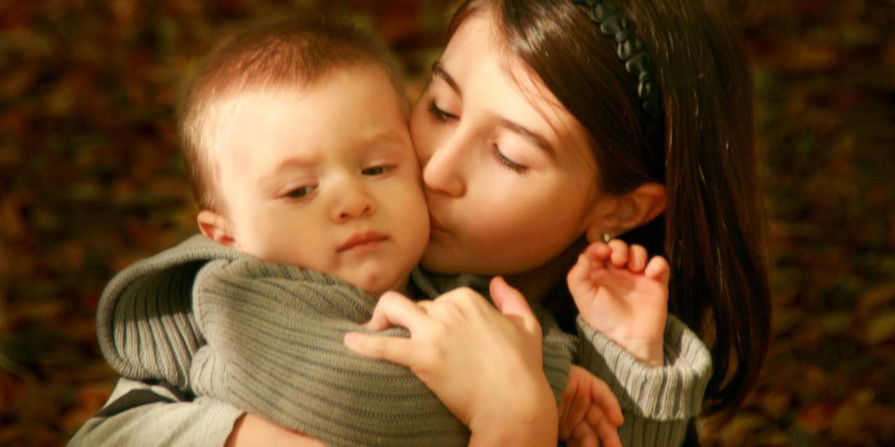 Lucía y su hermanito cuento