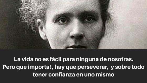 Modelo de mujer Marie Curie