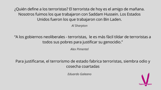 NO.TERRORISMO.ESTADO