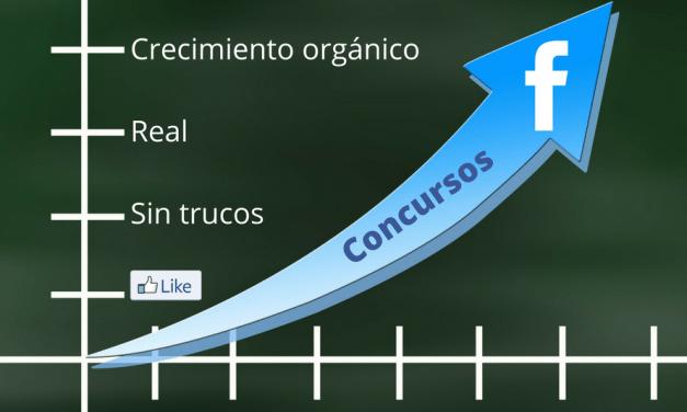 Impacto concursos Facebook