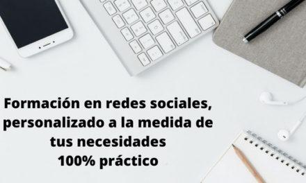 Formación en redes sociales a medida personalizada