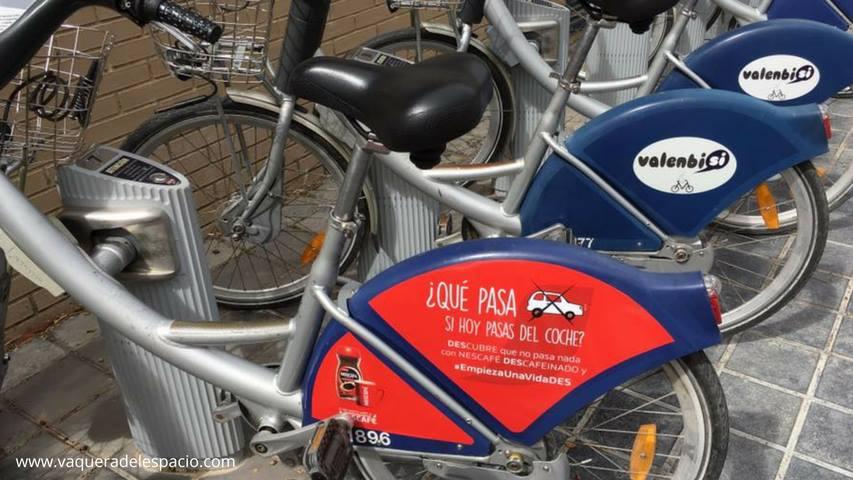 Fomento del uso de la bici Valencia