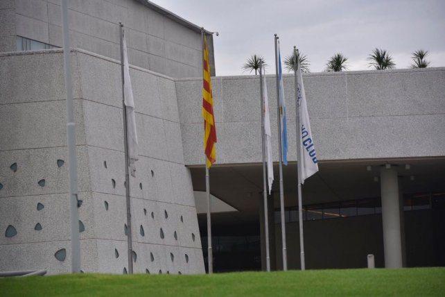 Bandera catalana en Rosario