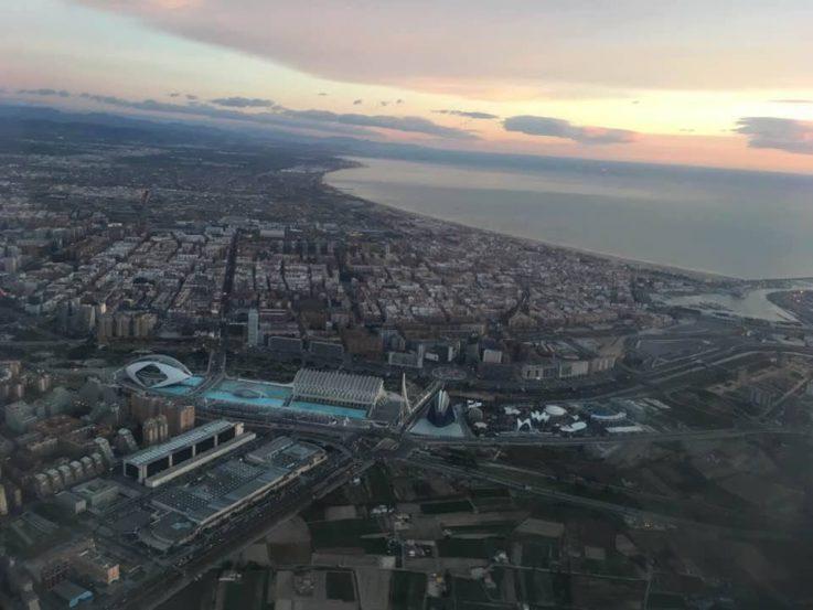 Valencia desde el aire