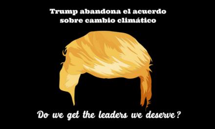 Trump abandona el acuerdo sobre cambio climático