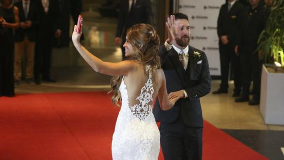 La excéntrica boda de Messi en Rosario