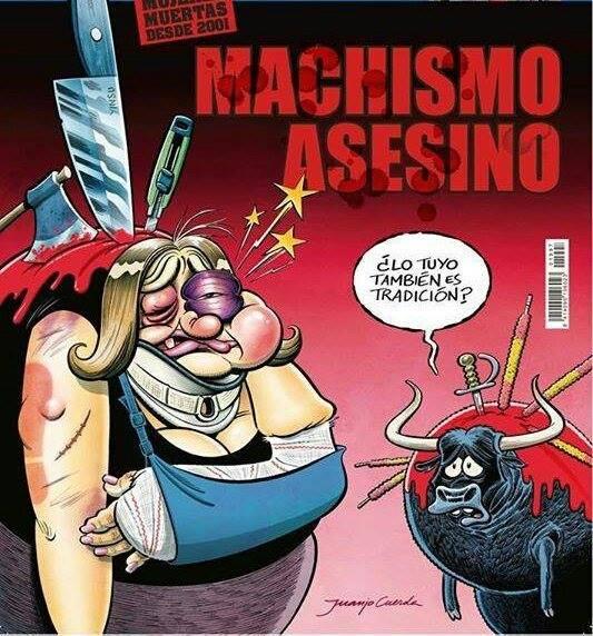 Machismo Tauromaquia