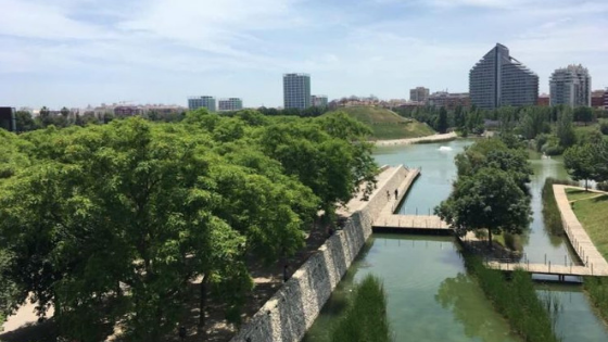Valencia ciudad ajardinada