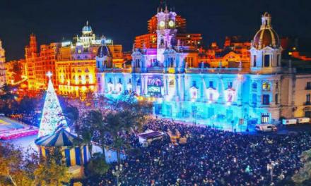 Valencia en Navidad luz y color