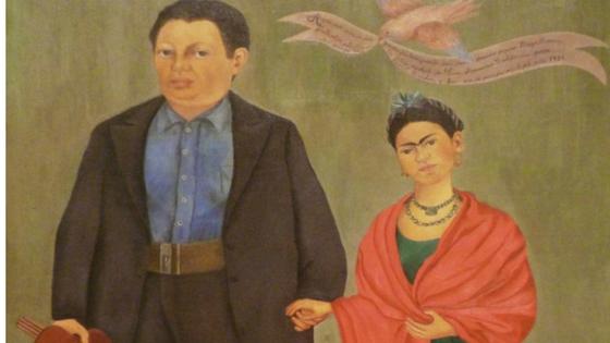 Frida y Diego Rivera una pareja moderna para la época