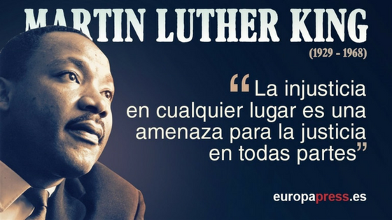 Martin Luther King las 10 mejores frases