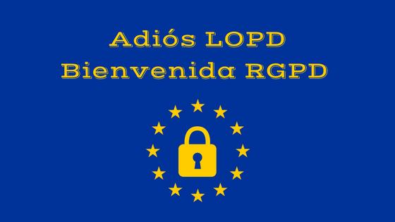 RGPD Reglamento gral. de protección de datos
