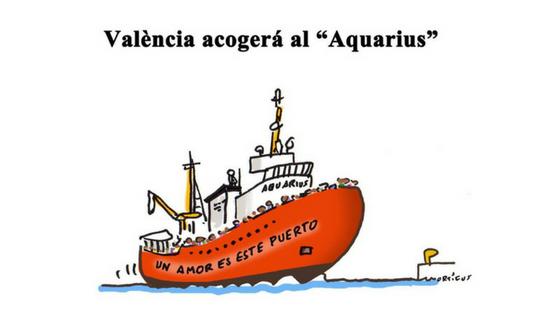 Crisis humanitaria o crisis moral: Aquarius