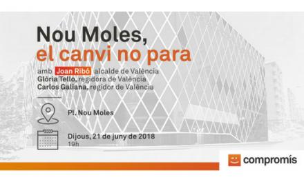 El canvi no para en Nou Moles Valencia