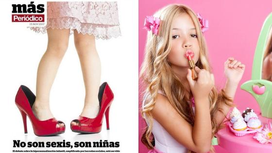 Hipersexualización niñas adultas