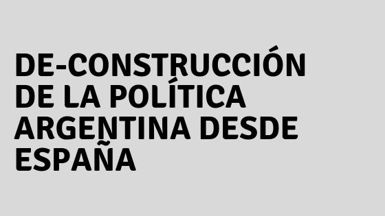 La política en Argentina y en España