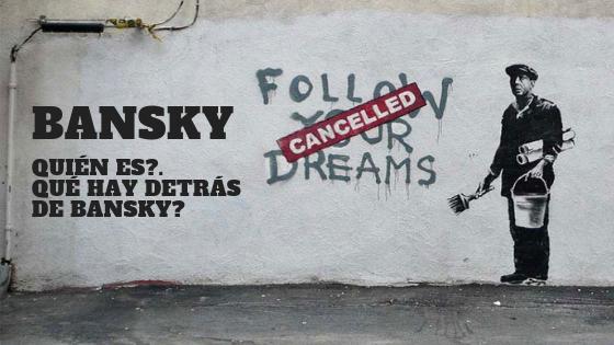 Bansky street art y contracultura