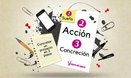 Concretar un proyecto en 3 pasos