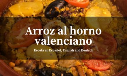 Arroz al horno valenciano, de los arroces de la terreta el más sobroso