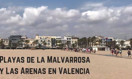 Playas de la Malvarrosa y Las Arenas en Valencia