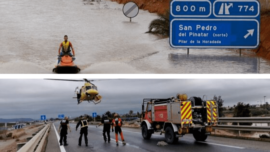 DANA Gota fría en el Mediterráneo