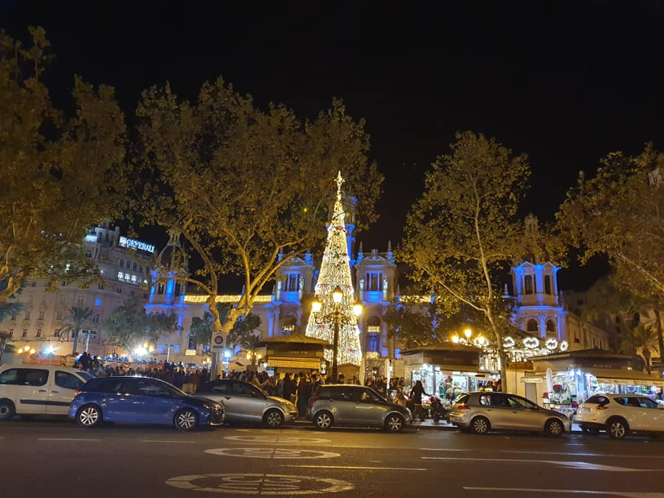 Ayuntamiento de Valencia navidad