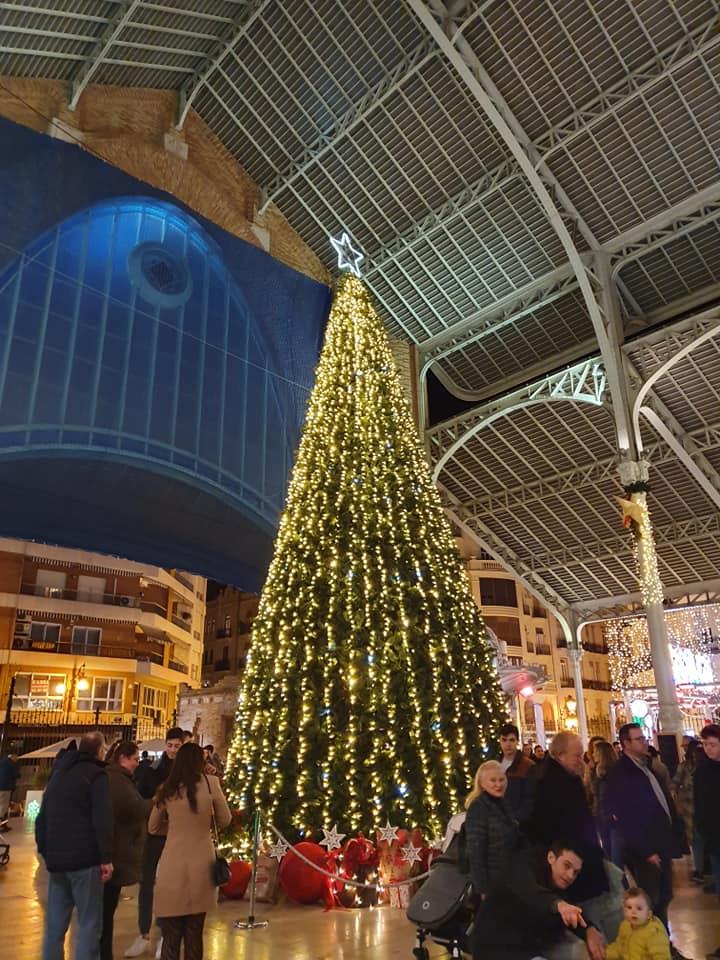 Mercado Colón navidad