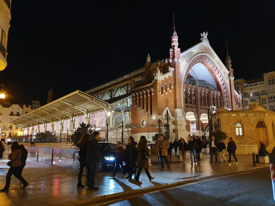 Mercado Colón Valencia navidad