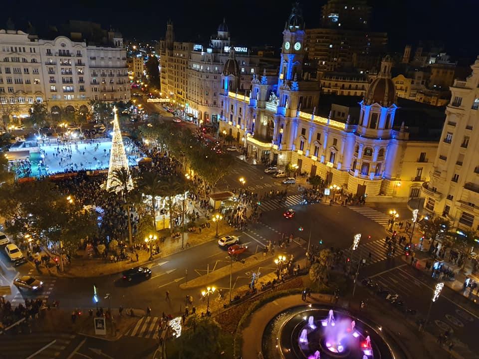 Navidad Valencia vistas