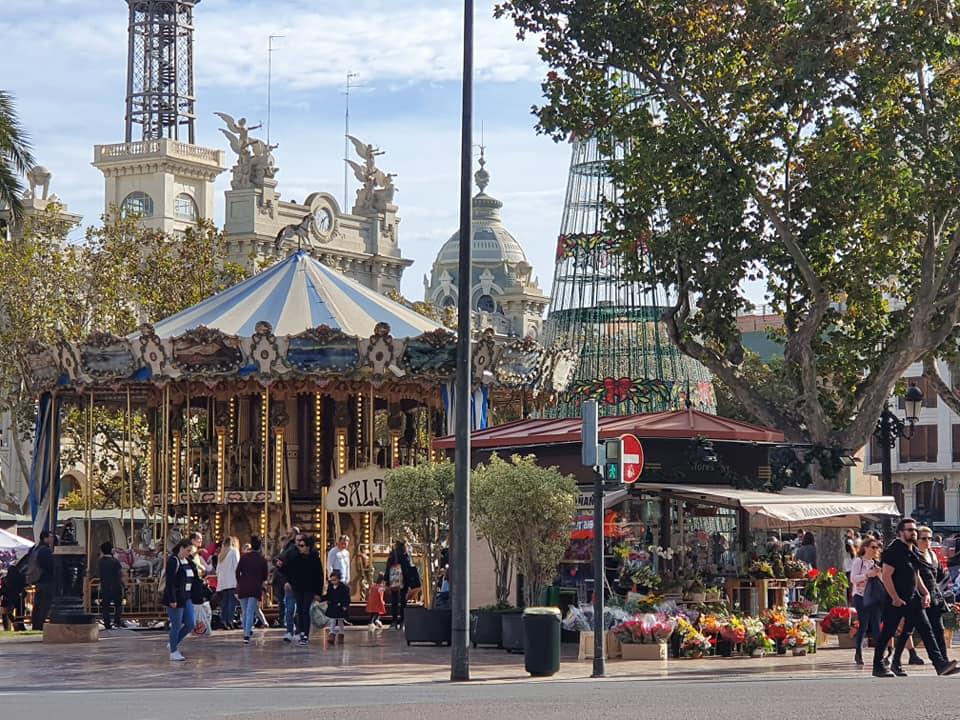 Plaza del Ayuntamiento navidad