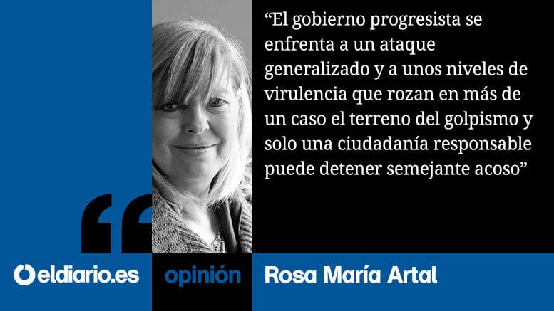 Rosa María Artal sobre gobierno progresista