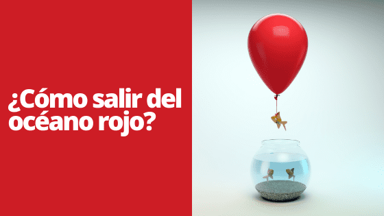 Marketing digital océano rojo y océano azul