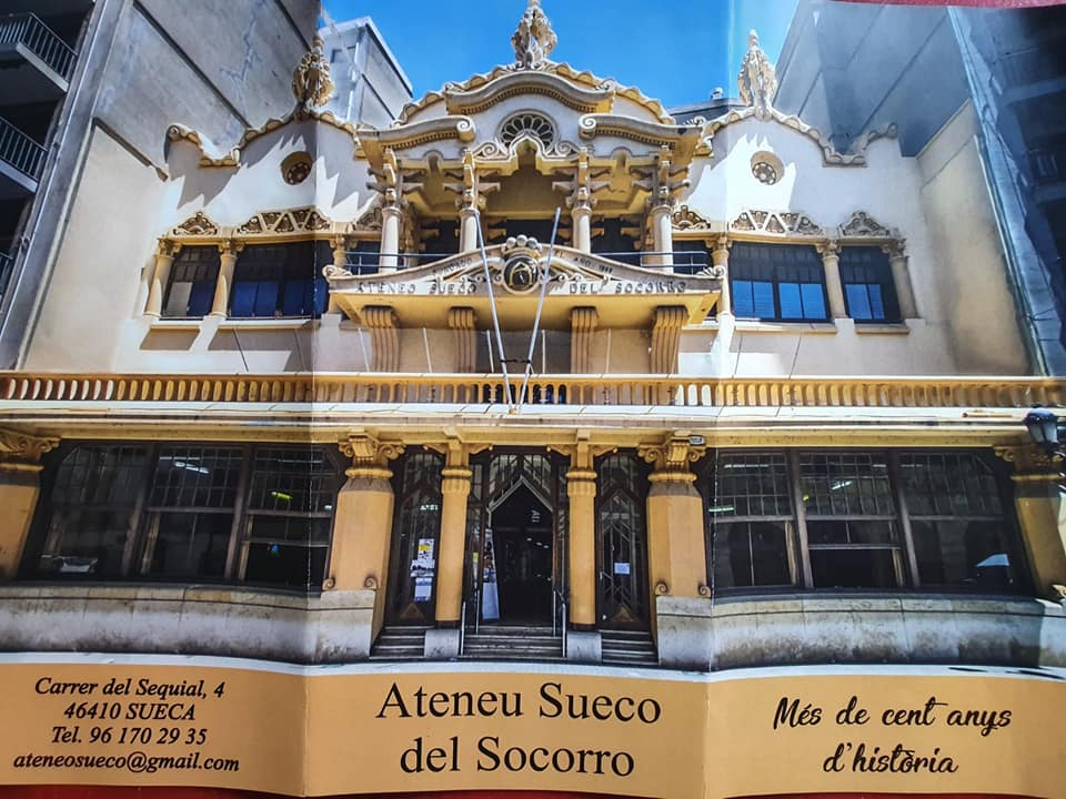 Sueca Comunidad Valenciana. Ateneo Sueco del Socorro
