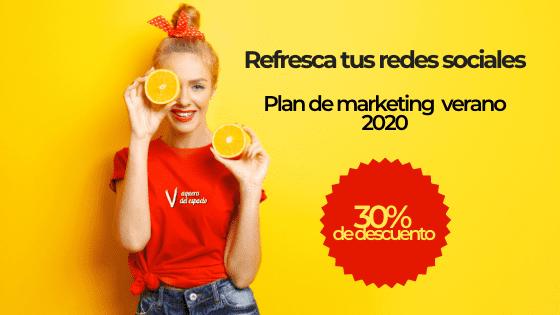 Plan de marketing redes sociales verano 2020