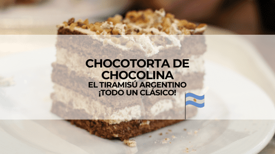 Tarta de chocolina. Postre argentino