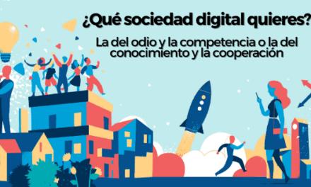 Sociedad digital. ¿Y si aprendemos a cooperar?