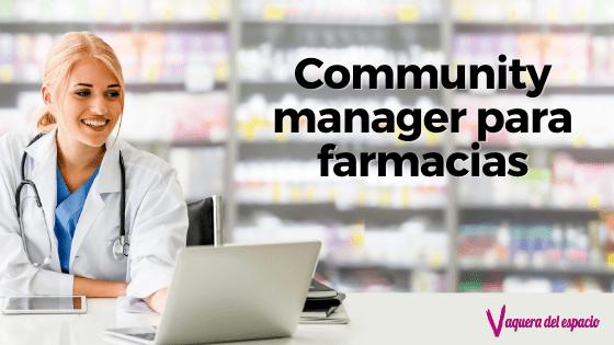 Community manager para farmacias