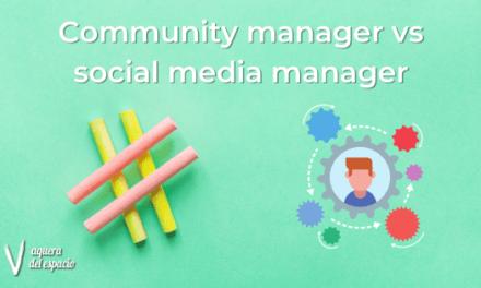 Community manager vs social media manager